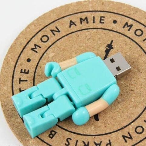 Cool Doctor Model 8GB USB 2.0 Flash Drive Memory Stick Pen Drive - Green