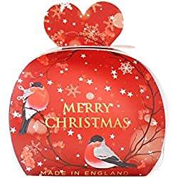 The English Soap Company Luxury Guest Soaps for Women, Merry Christmas, 2.0 Ounce