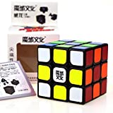 MoYu Weilong Version 1 Speed Magic Cube Professional Classic Puzzle Twist Toy Black with Blister plastic packed offers