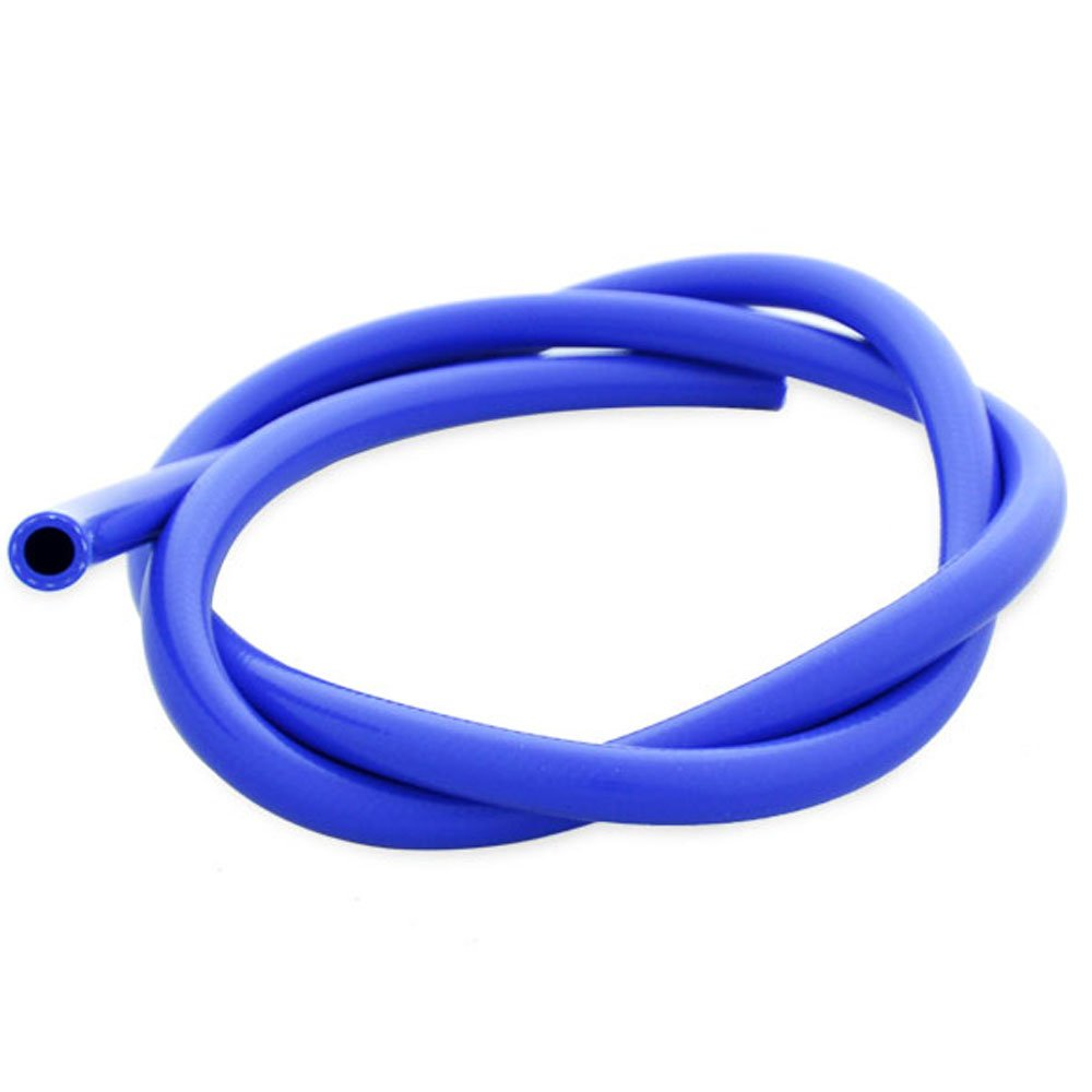 16mm ID Blue 2 Metre Length 1 Ply Silicone Radiator Hose AutoSiliconeHoses