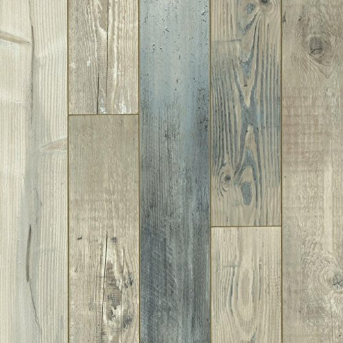 Armstrong PRYZM Waterfront Sky Blue Hybrid Flooring + Pad PC012 - Flooring Laminate Stone Look