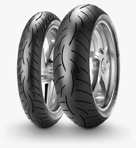 Metzeler Roadtec Z8 Rear Tire - 190/55ZR-17 - M Spec, Rim Size: 17, Application: Sport, Size: 190/55-17, Type: Street, Load Rating: 75, Speed Rating: W, Construction: Radial 2284100 by Metzeler