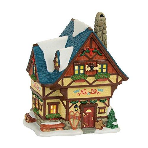 Department 56 Alpine Bavarian Cottage House Village Lit Building Multicolor ()