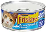 Friskies Cat Food Classic Pate, Special Diet Ocean Whitefish Dinner, 5.5-Ounce Cans (Pack of 24), My Pet Supplies