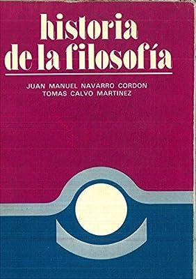 HISTORIA DE LA FILOSOFIA: Amazon.es: JOSE MANUEL NAVARRO CORDON ...
