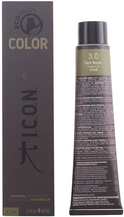 Icon Ecotech Natural Color 7.2 Medium Beige Blonde Tinte - 60 ml
