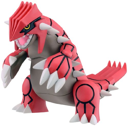 Takaratomy MHP-08 Official Pokemon X and Y Groudon Figure