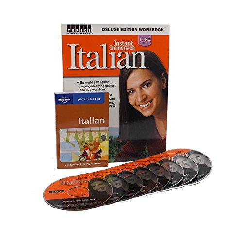 Italian Alphabet Language (Learn to Speak Italian Language Deluxe (8 Audio CDS) w/Workbook and Phrasebook)