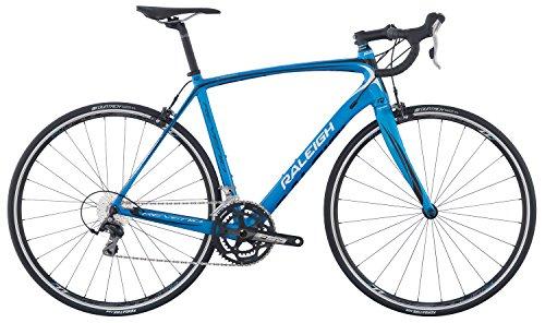 Raleigh Bikes Revenio 1 Carbon Road Bike, Blue, 58cm/X-Large