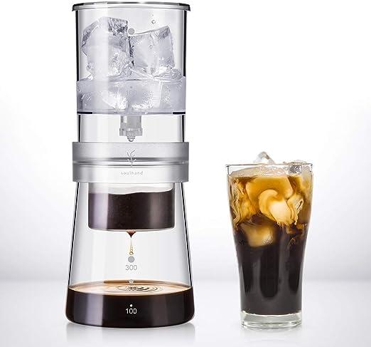 Soulhand Máquina de Café frío,Cafetera de Estilo holandés con ...