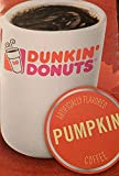 Dunkin Donuts K-Cups Pumpkin Flavor - Box of 12 Kcups for use in Keurig Coffee Brewers