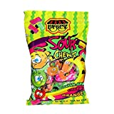Paskesz - Sour Fruit Chews Taffy Candy (4 x 4-Ounce Bags)