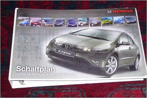 Honda Schaltpläne 1 für CR-V 1.1997, HR-V 1.1999, Accord 2.1999, S ...
