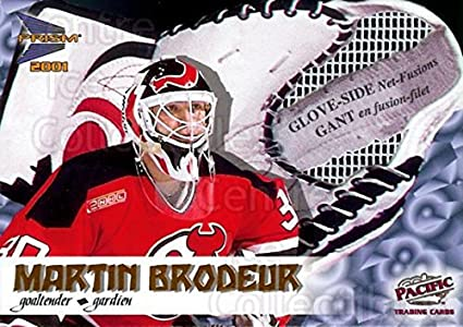 Amazon Com Ci Martin Brodeur Hockey Card 2000 01 Mcdonalds