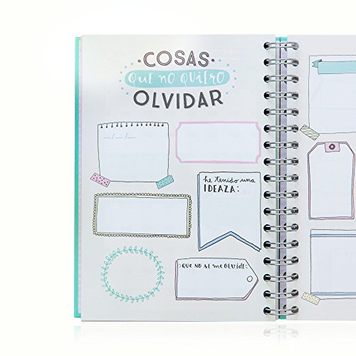 Mr. Wonderful WOA02955 - Agenda anual 2016, color azul