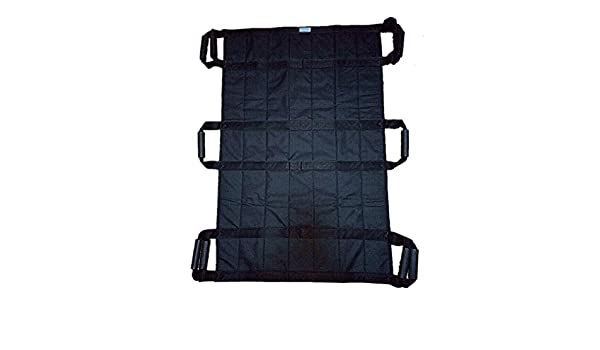 M & My Healthcare alarga Multi de mover Plus Transfer/Slide Sheet - 3 personas pueden de cama gelähmte Paciente levantan Shift de cinturón Transfer Pad de ...