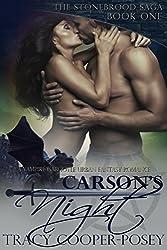 Carson's Night: A Vampire Gargoyle Urban Fantasy Romance (The Stonebrood Saga Book 1)