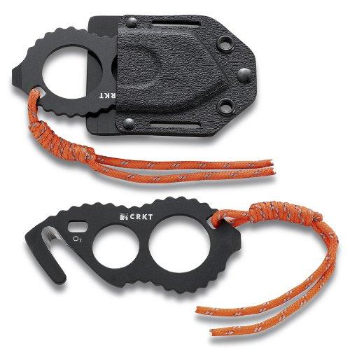 Columbia River Knife and Tool 2051K McGowan Extrik-8-R Black Seat Belt Cutter, Outdoor Stuffs