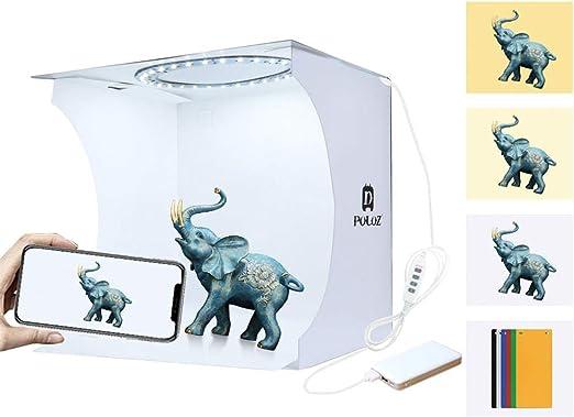duhe189014 Mini Caja De Estudio Fotográfico, Kit De Tienda De Luz ...