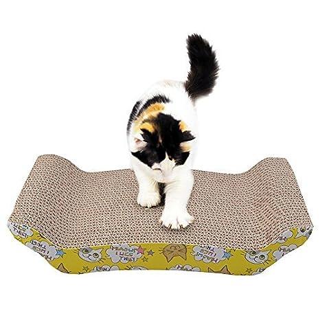 Maxmer Rascadores Gatos Rayar Las Uñas, La Almohadilla del Tablero con Cat Mint: Amazon.es: Productos para mascotas