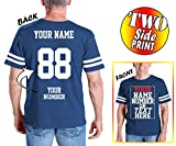 Custom Cotton Jerseys - MAKE YOUR OWN JERSEY T Shirts - Personalized Team Uniforms for Casual Outfit