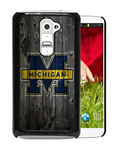 Unique And Durable Custom Designed Case For LG G2 With Ncaa Big Ten Conference Football Michigan Wolverines 8 Black Phone Case