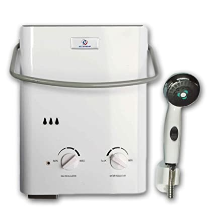 Beau Eccotemp L5 Tankless Water Heater W/EccoFlo 12V Pump And Strainer