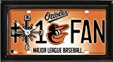 ORIOLES CLOCK - BY TAGZ SPORTS