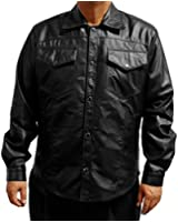 Buy a USA Made Leather Shirt Sizes 38-60, 36L-58L