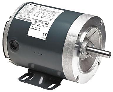 MARATHON MOTORS 056T34F5302 Motor,3 Ph,3//4 HP,3450,56C,Eff 74.0