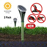 YAKALLA Solar Powered Pest and Animal Repellent, Get Rid of Snake Mole Gophers