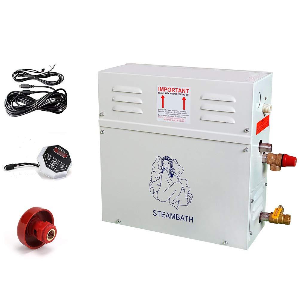 ECO LLC 220V 9KW Steam Generator Sauna Bath Home Spa Shower ST-90 and ST-135 Controller by ECO LLC