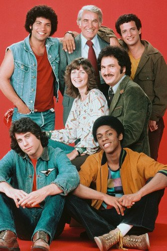Welcome Back Kotter Cast Poster