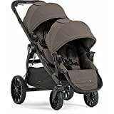 Baby Jogger City Select Lux with Second Seat Double Stroller - Taupe