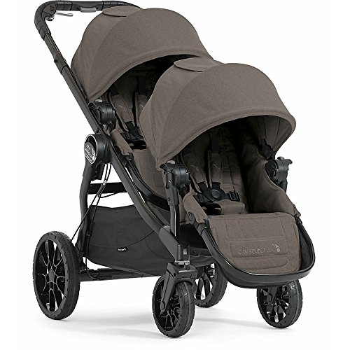Baby Jogger City Select Lux with Second Seat Double Stroller - Taupe by Baby Jogger