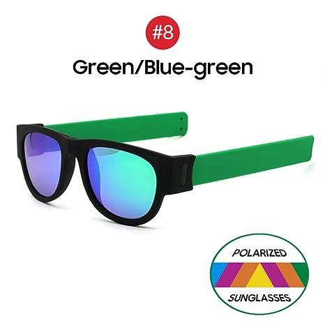 Yangjing-hl Gafas de Sol Plegables polarizadas Llegada Slap ...