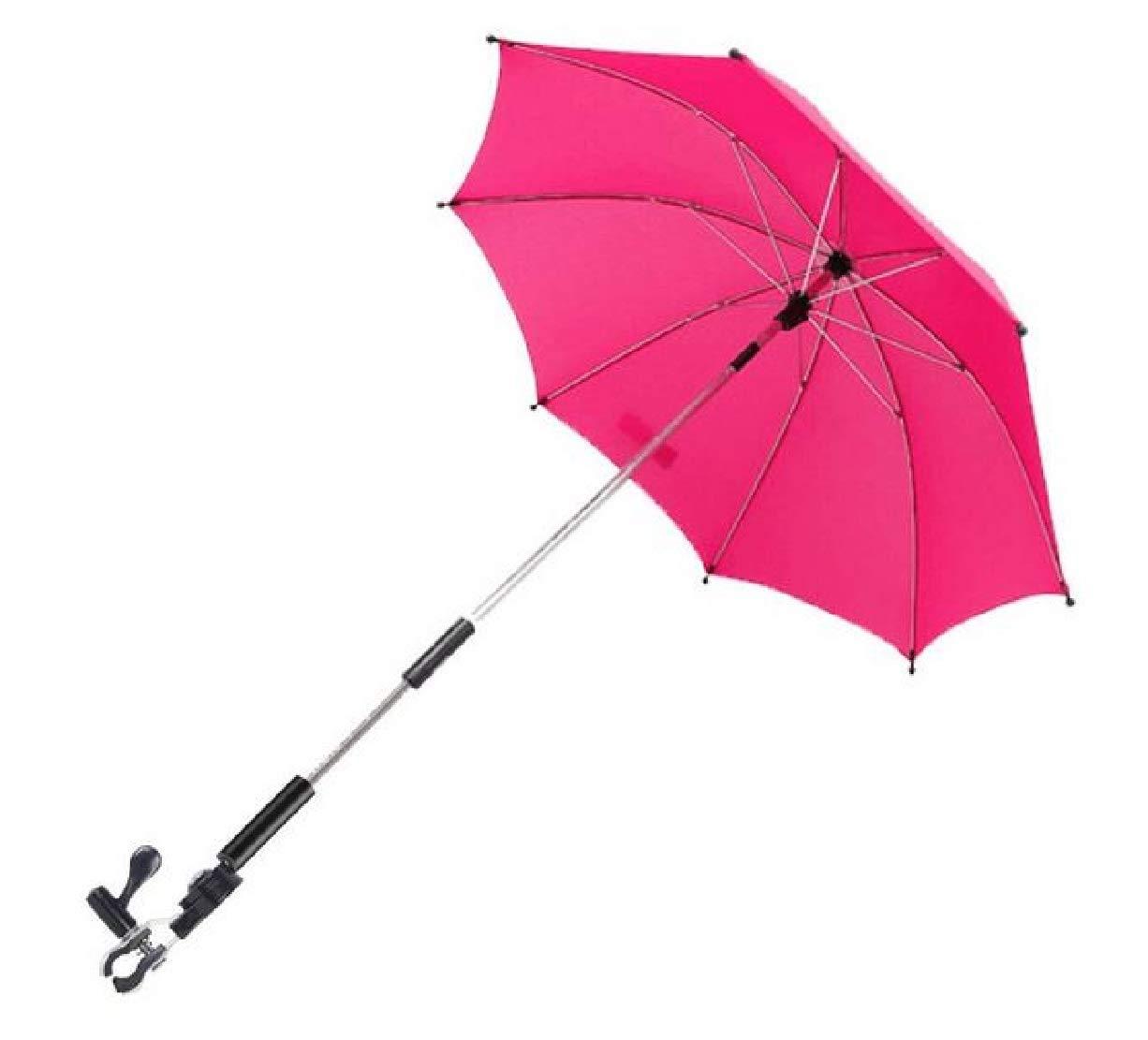 Silfrae Baby Stroller Umbrella UV Rays Umbrella Rainproof Parasol