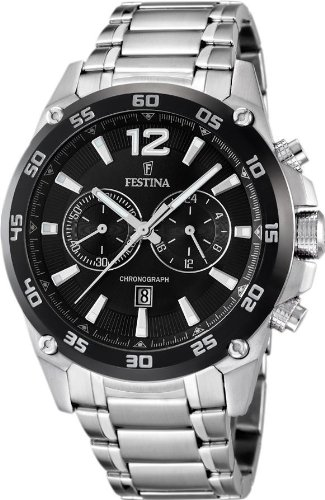 Festina Chrono Sport F16680/4 Mens Chronograph Solid Case