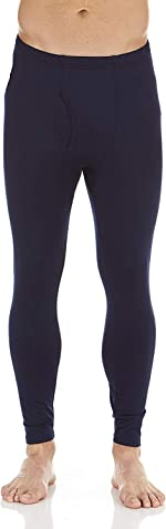 Bodtek Mens Thermal Underwear Pants Premium Long Johns Fleece Lined Base