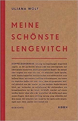 Meine Schönste Lengevitch Gedichte Reihe Lyrik Amazonde