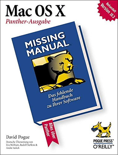 Mac OS X: Missing Manual, Panther-Ausgabe