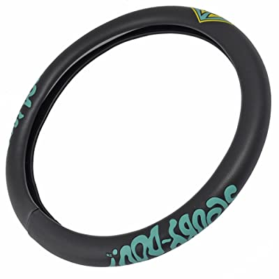 BDK WB Warner Brothers Scooby Doo Steering Wheel Cover for Standard Size Wheels (14.5 15 15.5) in.: Automotive