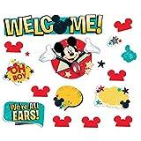 Eureka Classroom Bulletin Board Set, Mickey - Welcome Mini Bulletin