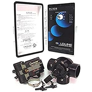 51R%2BGB HuDL. SS300  - Hayward GLC-2P-A Solar Pool Heating Control System with 3-Way Valve, Actuator and 2 PC Sensors