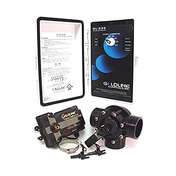51R%2BGB HuDL. SS600  - Hayward GLC-2P-A Solar Pool Heating Control System with 3-Way Valve, Actuator and 2 PC Sensors