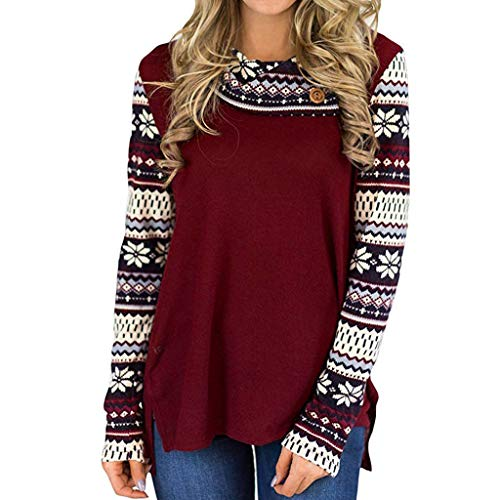 Women Sweatshirt Ladies Autumn Winter Long Sleeve Turtleneck Print Fashion Casual Loose Pullover Blouse Tunic Tops