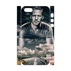VNCASE Paul Walker Phone 3D Case For iPhone 5,5S [Pattern-4] hjbrhga1544
