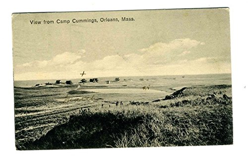 View From Camp Cummings Orleans Massachusetts Postcard - Women Pictures Cumming