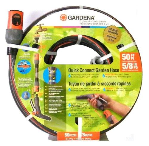 Gardena 39000 50-Foot 5/8-Inch Comfort Heavy Duty Garden Hose