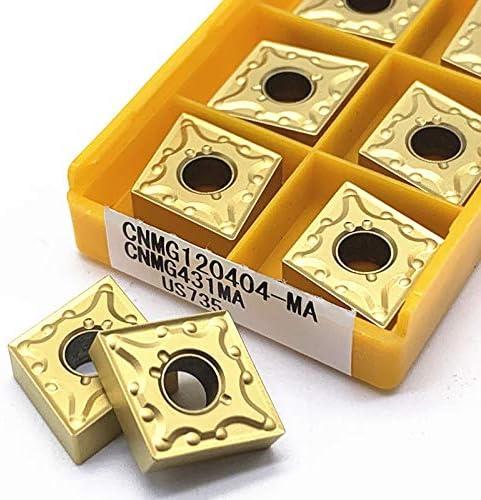 CNMG120404 MA VP15TF UE6020 US735 Externe Drehwerkzeuge, Hartmetall-Einsätze, Schneidewerkzeug, CNC-Werkzeuge, Drehmaschinen-Werkzeuge Cnmg120404 Ma Us735